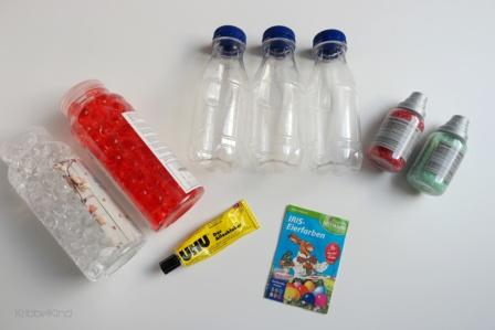 befüllte Flaschen