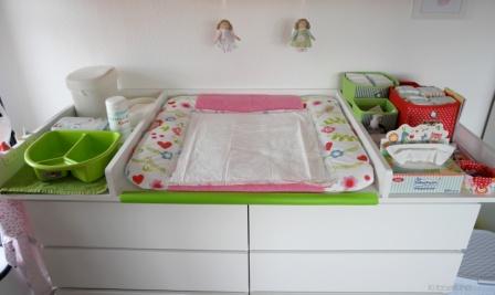 DIY Wickeltisch